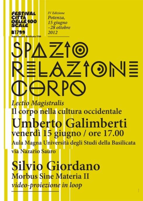 Silvio Giordano e Umberto Galimberti che?
